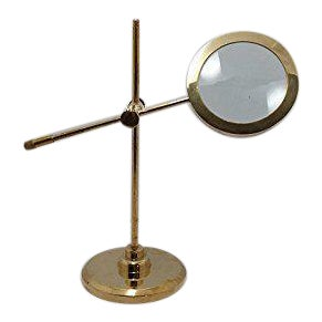 Brass Table Top Magnifying Glass
