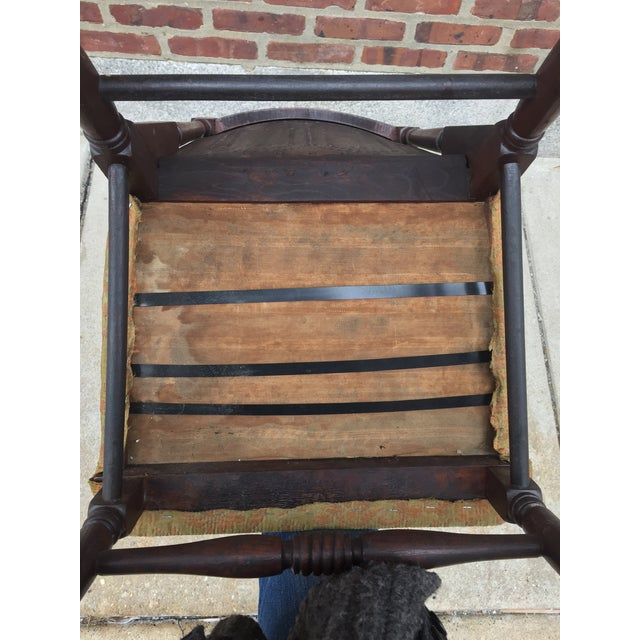 *Last Chance* Antique Victorian Child's Rocking Chair For Sale - Image 12 of 13