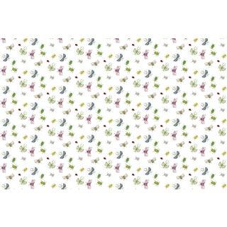 Bugs Sugar Swizzle Linen Cotton Fabric 3yds For Sale
