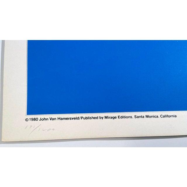 Oceanliners, the Cooper-Hewitt Museum by John Van Hamersveld, Hand Printed Silkscreen Limited Edition Print For Sale - Image 4 of 5