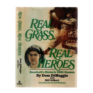 "1990 ""Signed Edition, Real Grass, Real Heroes"" Collectible Book For Sale"
