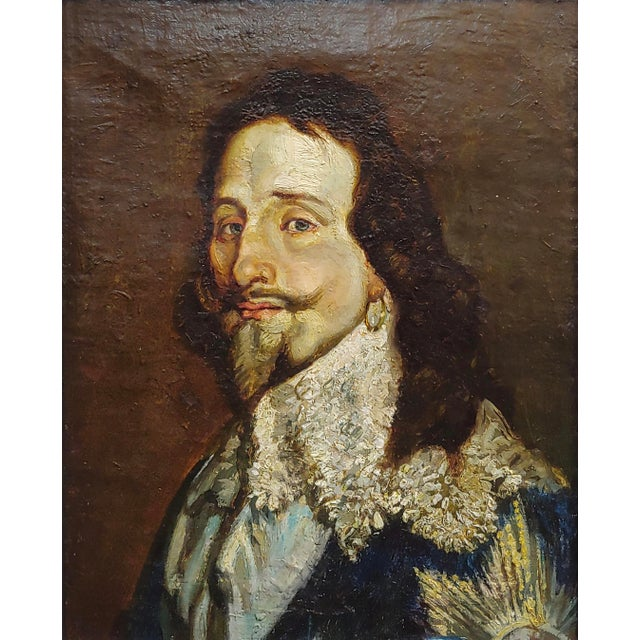 Mediterranean Portrait of a Spanish Gentleman 17th/18th Century Oil Painting For Sale - Image 3 of 9
