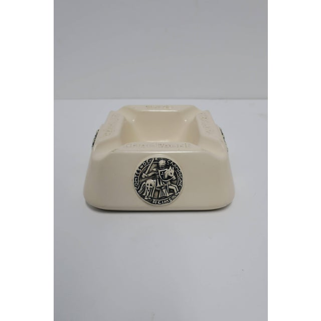 French Taittinger Champagne Cigar Ashtray For Sale - Image 4 of 9