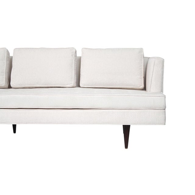 Large Edward Wormley for Dunbar Upholstered Sofa For Sale In Boston - Image 6 of 13
