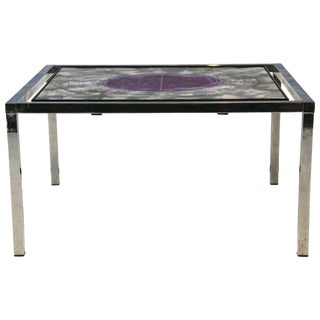 1960s Mid-Century Modern Juliette Belarti Tile Table For Sale