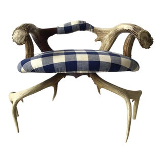Small Antler Chair For Sale