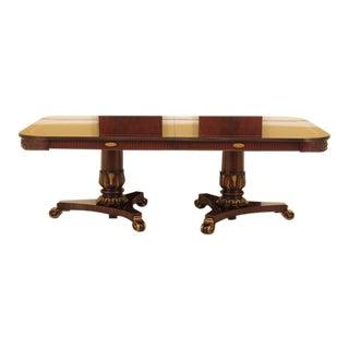 Millender Regency Mahogany Banquet Dining Room Table