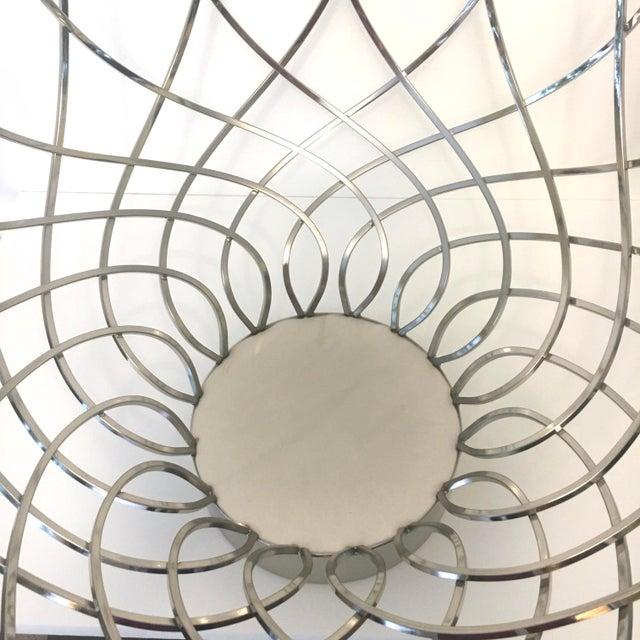 Large Modern Silver Bowl - Image 4 of 5