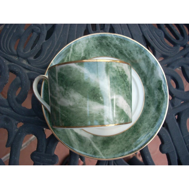 Modern Mikasa Coffee Mugs & Saucers - Set of 7 For Sale - Image 3 of 4