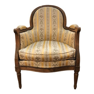 19th Century French Bergere For Sale
