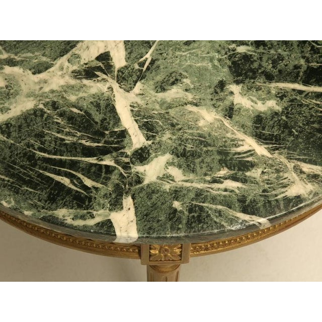 Gold French Louis XVI Style Coffee Table For Sale - Image 8 of 10