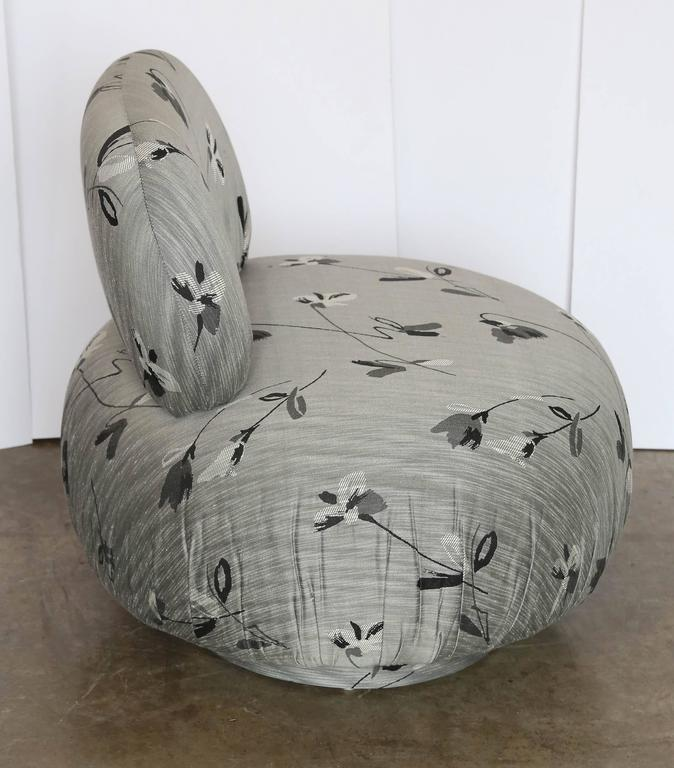Attributed To A. Rudin Set Of Three Poof Slipper Chairs   Image 4 Of 5
