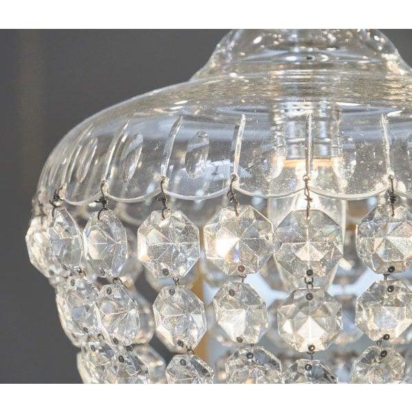 Antique Crystal Baccarat Chandelier For Sale In Austin - Image 6 of 10