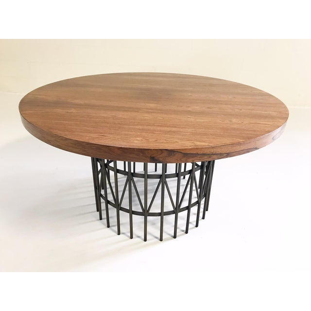 Such a cool piece! The brass legs, the rosewood top, everything about this Milo Baughman table is perfect. Cocktails or...