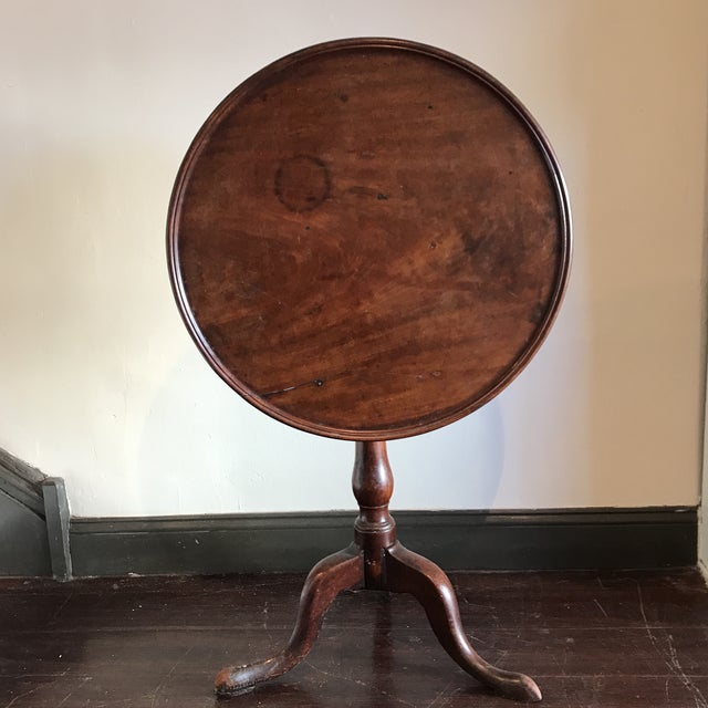 19th C. Tilt-Top Table For Sale - Image 11 of 11