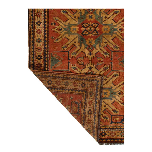 Add a touch of elegance to your home with this casual chic hand woven Kilim wool rug. Constructed on a loom by Nomad...