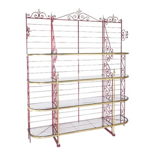 Antique French Bakers Rack 3 For Sale