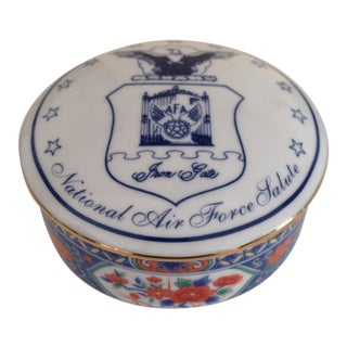 Tiffany & Co. Porcelain Trinket Box For Sale
