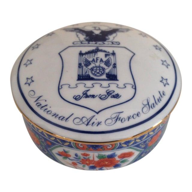Tiffany & Co. Porcelain Trinket Box - Image 1 of 9