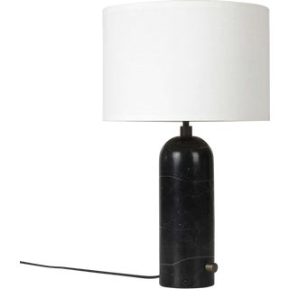 Black Marble 'Gravity' Table Lamp by Space Copenhagen for Gubi For Sale