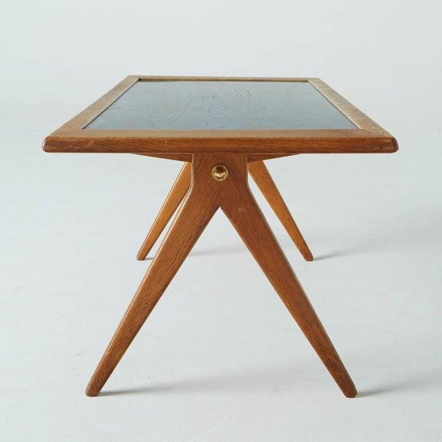 Stig Lindberg 1955 Stig Lindberg & David Rosen Enamel Coffee Table For Sale - Image 4 of 7