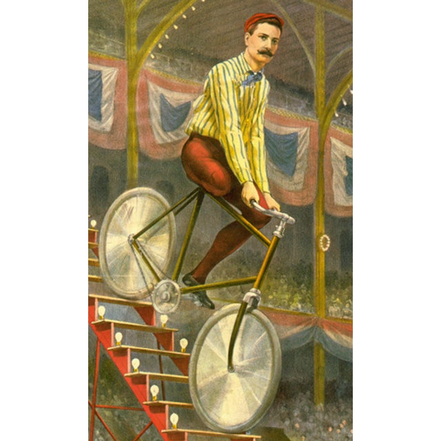 Kilpatrick's Famous Ride Print of Circus Poster - Image 3 of 4