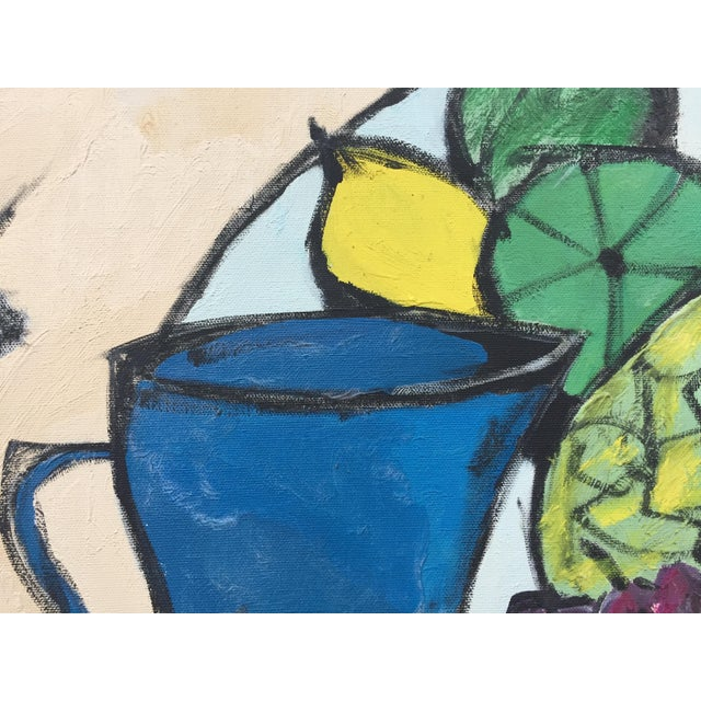 Mid-Century Modern Still Life Painting For Sale - Image 9 of 10