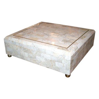1950s Vintage Maitland-Smith Marble Box For Sale