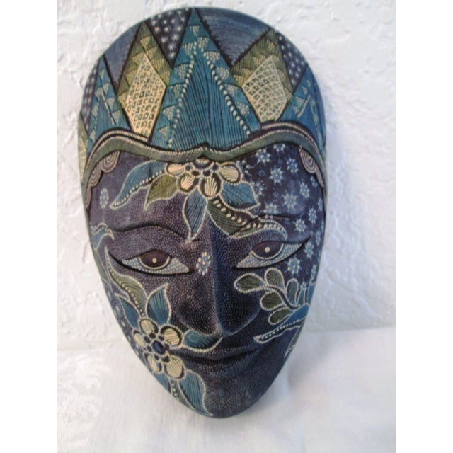 Ornate Decorative Hanging Masks - S/3 - Image 8 of 9