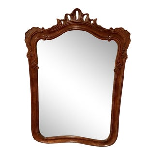 Henredon French Provincial Fruitwood Mirror For Sale