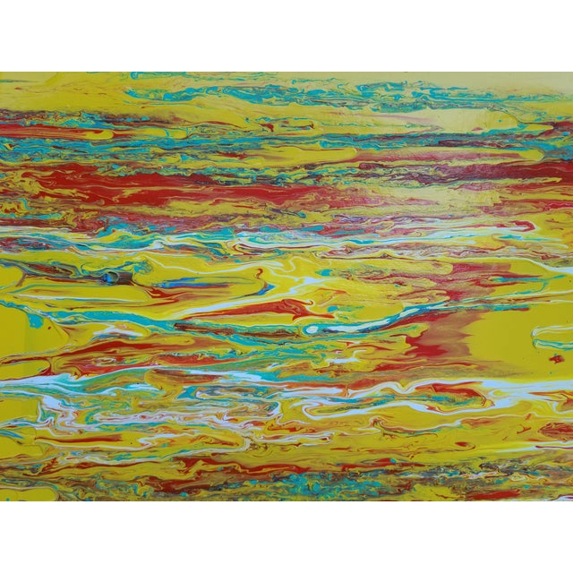 2000s Contemporary Abstract Expressionist Painting For Sale - Image 5 of 10