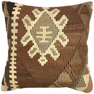 "Vintage Kilim Pillow | 18"" For Sale"