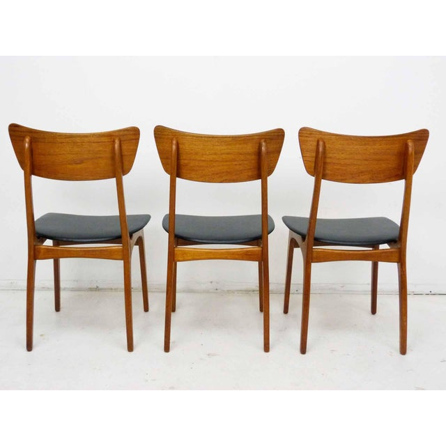 Danish Modern Svend Madsen for Sigurd Hansen Model 60 Dining Chairs - Set of 6 For Sale - Image 3 of 10
