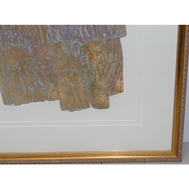 """Late 20th Century Janet Jones """"Badlands"""" Etching W/ Aquatint C.1983 For Sale - Image 5 of 11"""