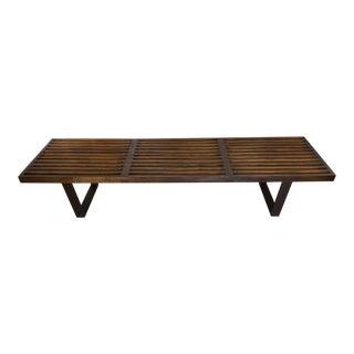 George Nelson Herman Miller Slat Bench For Sale