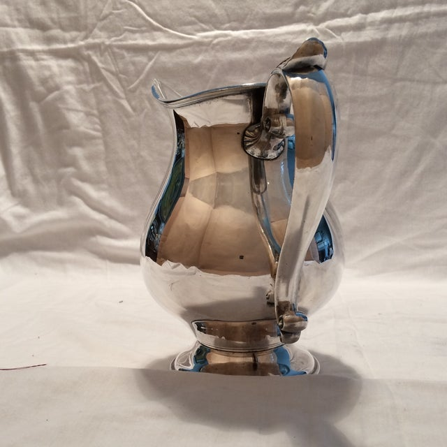Antique Silver Pitcher by Sheffield Early 1900's - Image 3 of 10