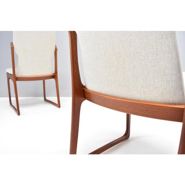 9f066b02fe842 Vamdrup Stolefabrik Danish Modern Teak Dining Chairs by Vamdrup Stolefabrik  - Set of Six For Sale