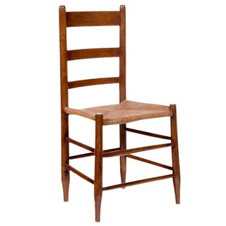 Mid 19th Century Single Ladder Back Chair For Sale