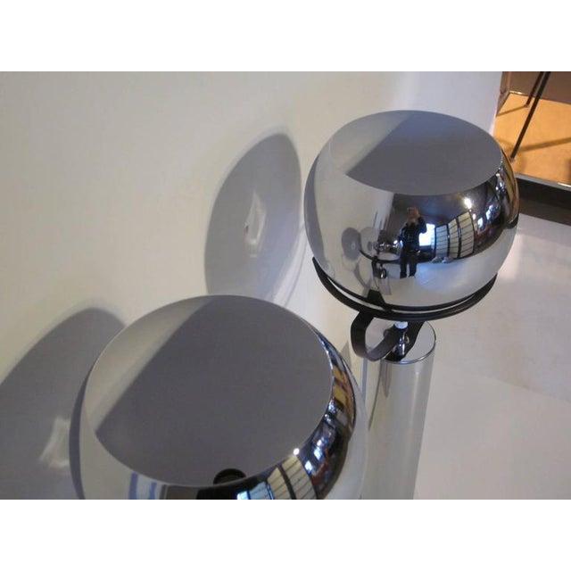 Robert Sonneman Robert Sonneman Adjustable Ball Table Lamps - a pair For Sale - Image 4 of 7