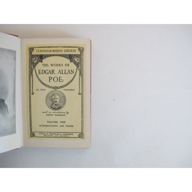 The Works of Edgar Allen Poe - Set of 10 - Image 7 of 8