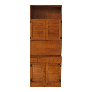 Ethan Allen Custom Room Plan Maple Bar Cabinet