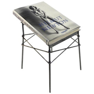 Helmut Newton Sumo Big Nude Art Book on Starck Chrome Stand Signed 3114/10000 For Sale