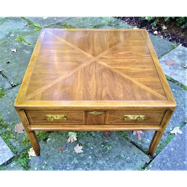 Mid-Century Mastercraft End Table For Sale - Image 11 of 11