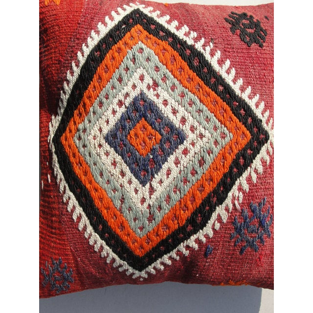 Islamic Kilim Rug Pillow For Sale - Image 3 of 11