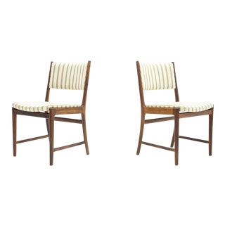 Pair of Side Chairs by Kai Lyngfeldt-Larsen for Søren Willadsen, Denmark, 1960s For Sale