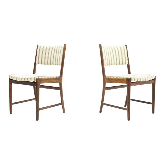 Pair of Side Chairs by Kai Lyngfeldt-Larsen for Søren Willadsen, Denmark, 1960s For Sale