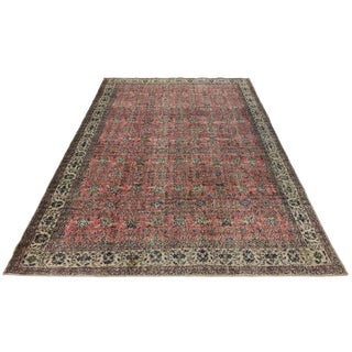 Rug & Relic Distressed Turkish Carpet | 7'2 X 10'7 For Sale