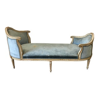 Beautiful 19th C. Italian Chaise Lounge For Sale