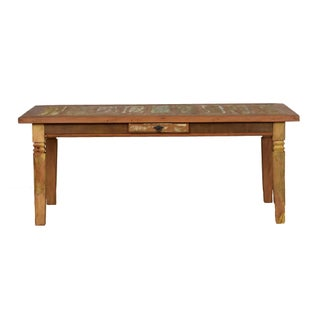 Reclaimed Wood Dining Set Preview
