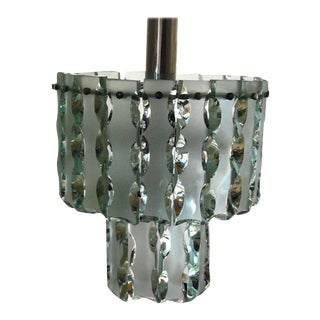1960s Italian Chandelier Style of Max Ingrand For Sale